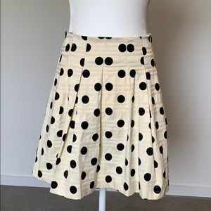 Banana Republic Polka Dot Mini Skirt